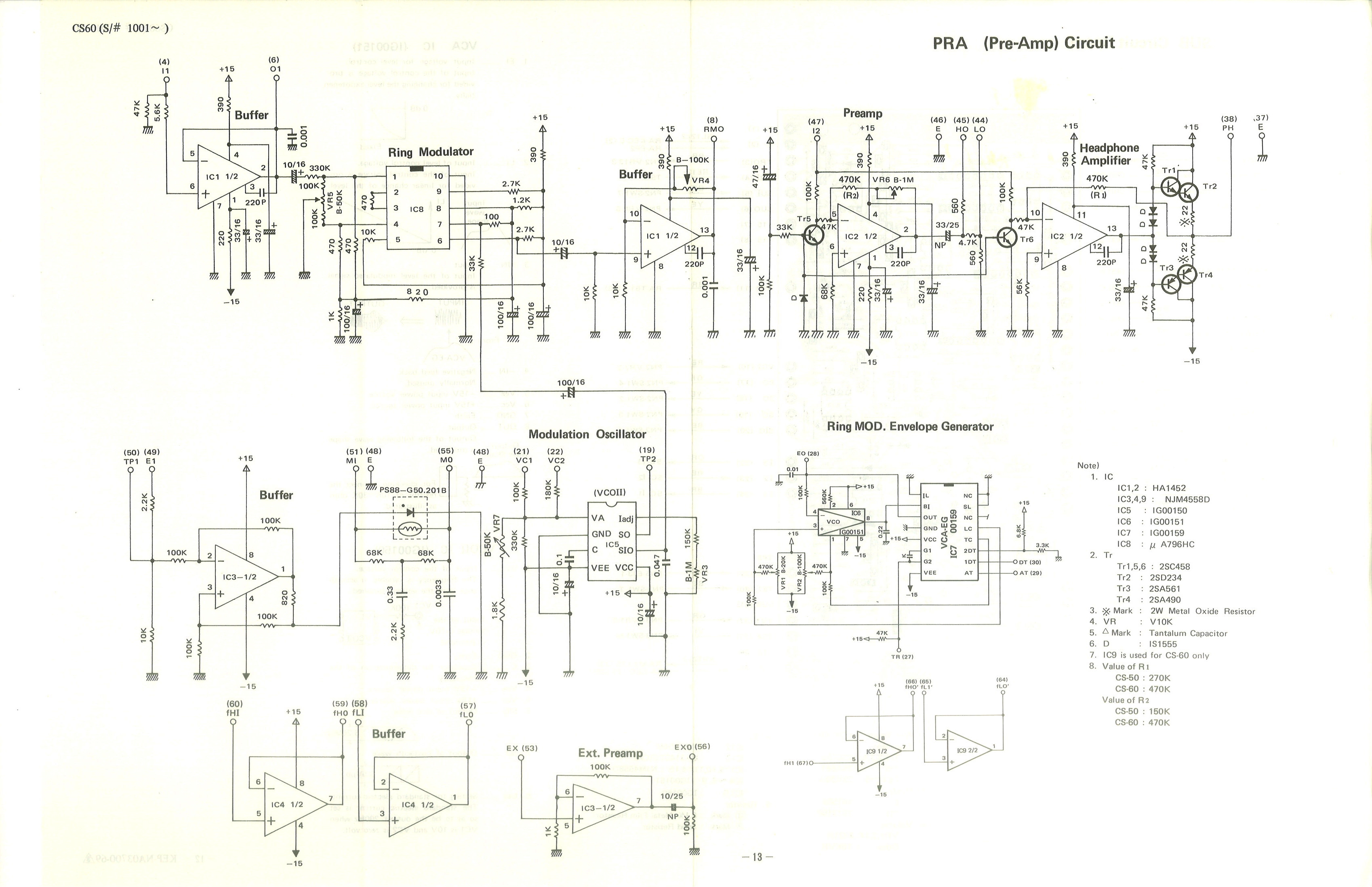 Free Information Society Roland Mks30 Electronic Circuit Schematic