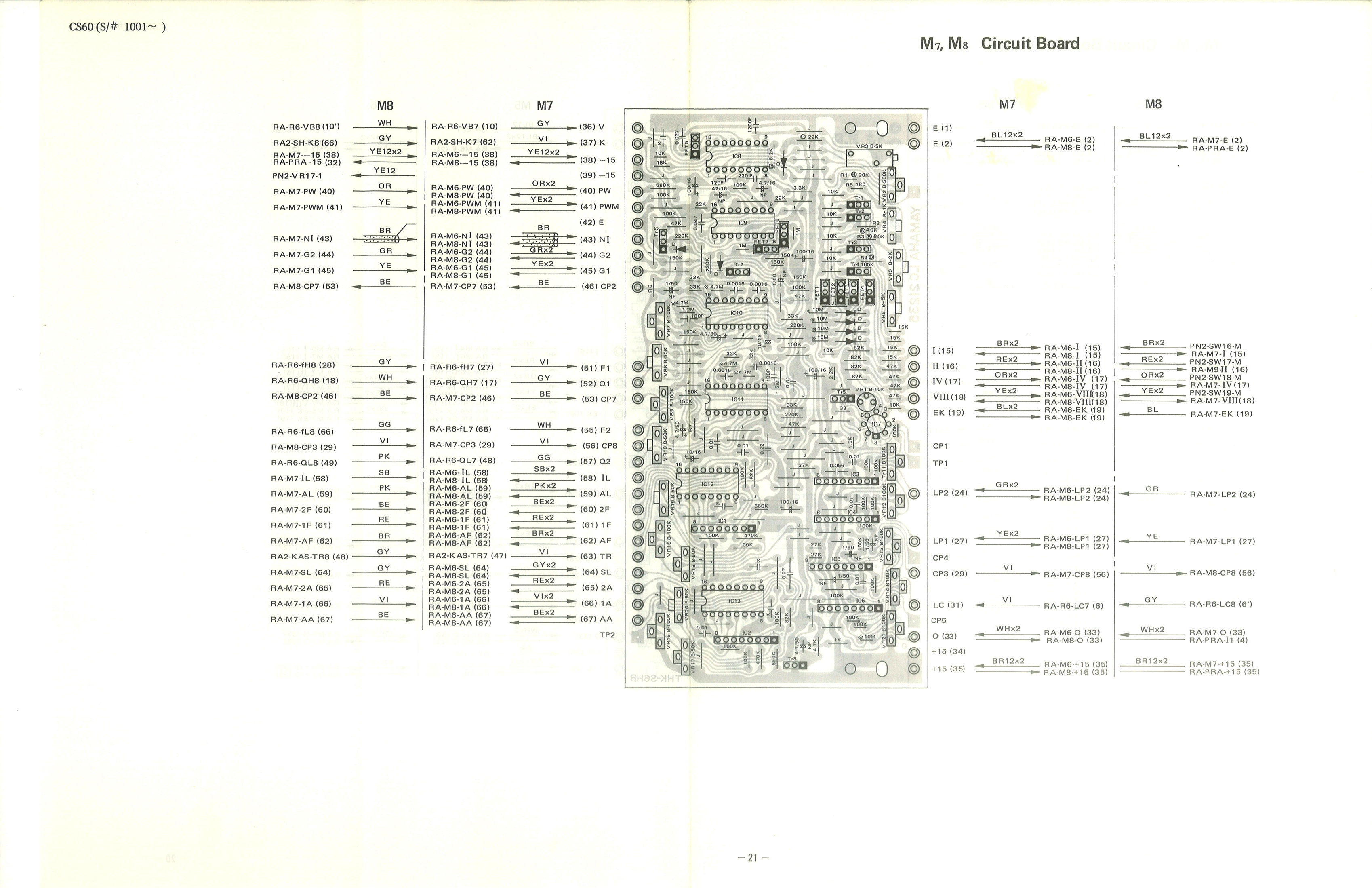 yamaha cs-60 service manual yamaha g1 wiring harness schematic