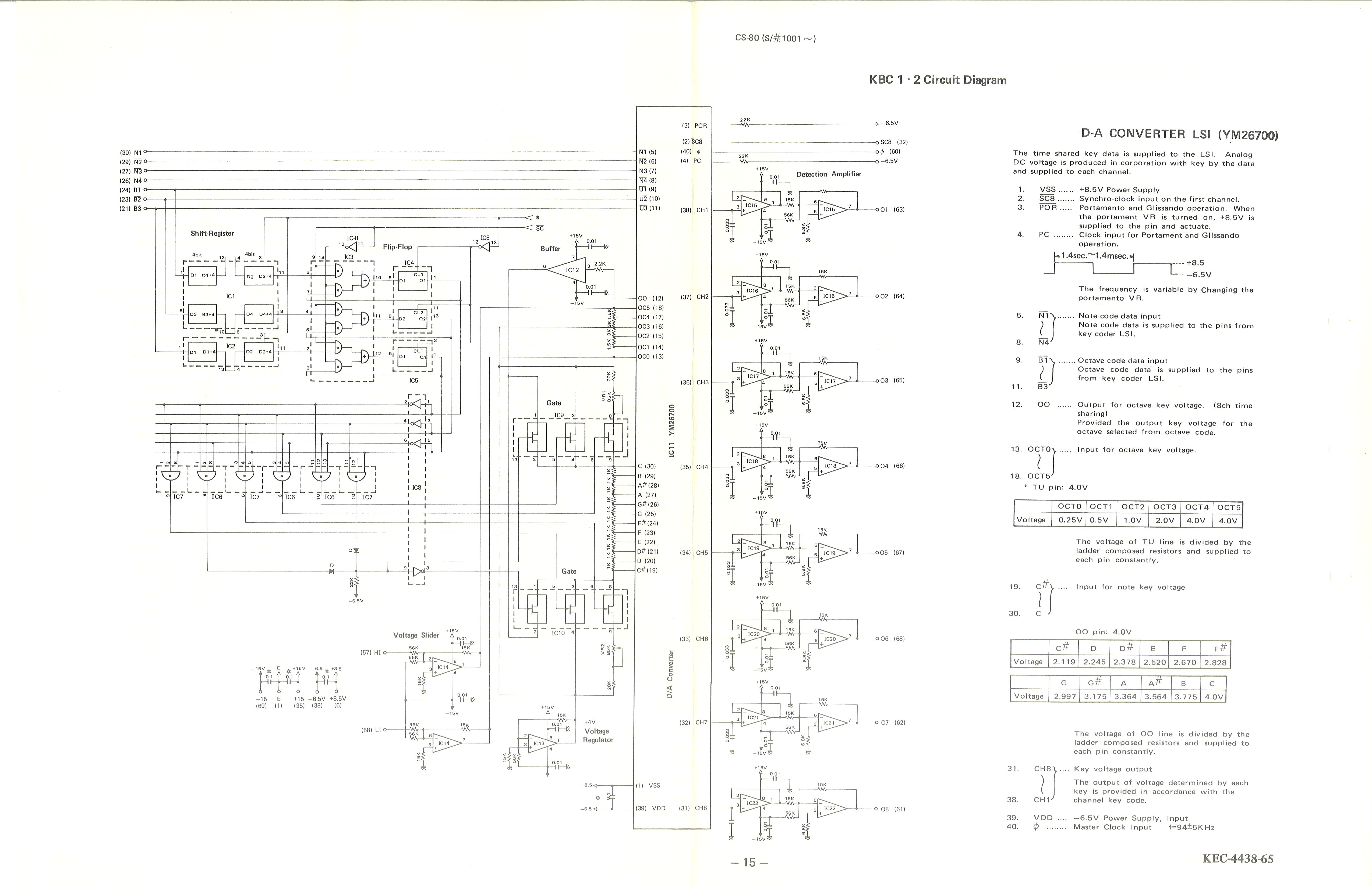 15 KBC 1 2 Circuit Diagram yamaha cs 80 service manual yamaha schematic diagram at nearapp.co