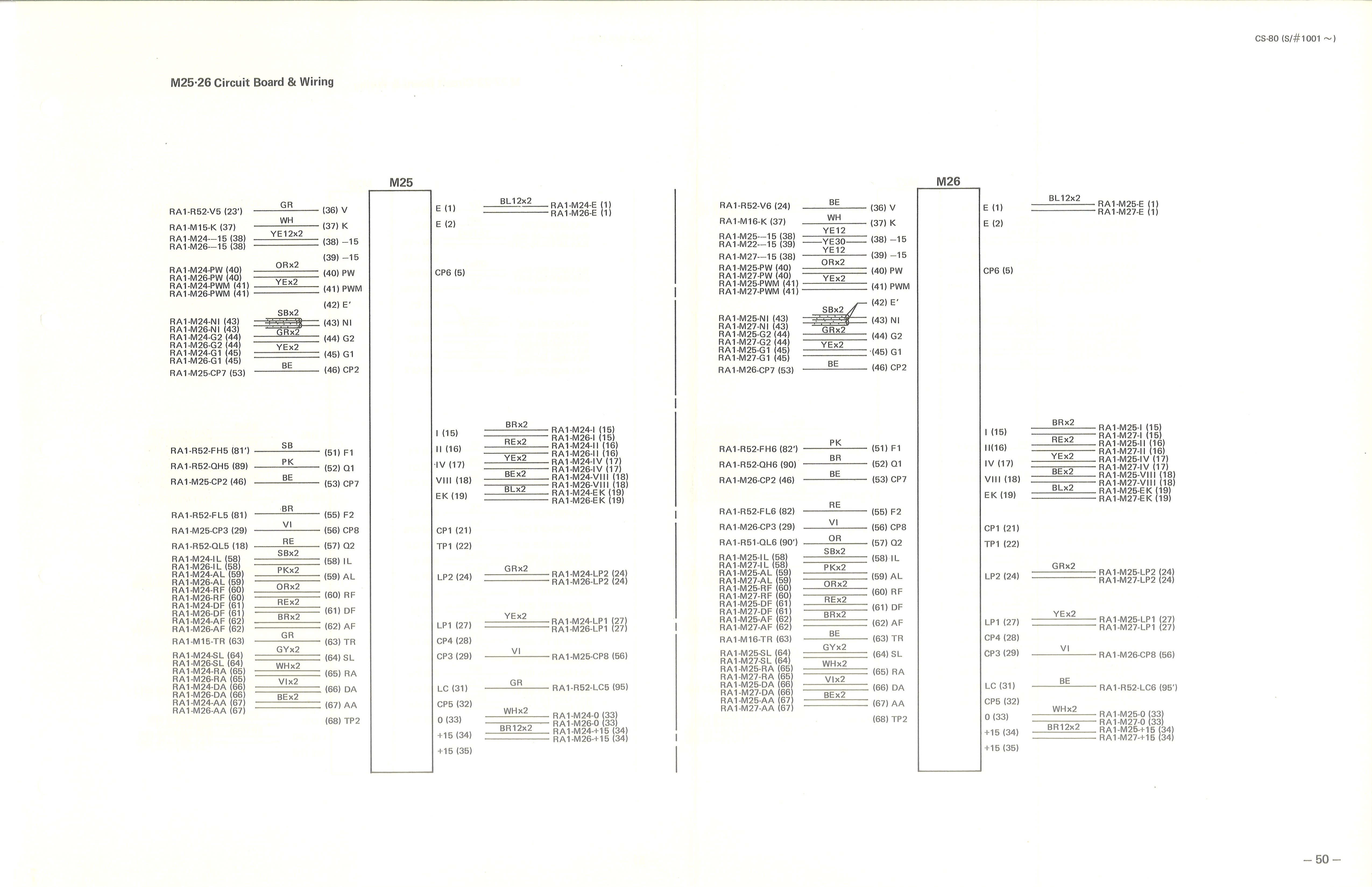 Yamaha Cs 80 Service Manual
